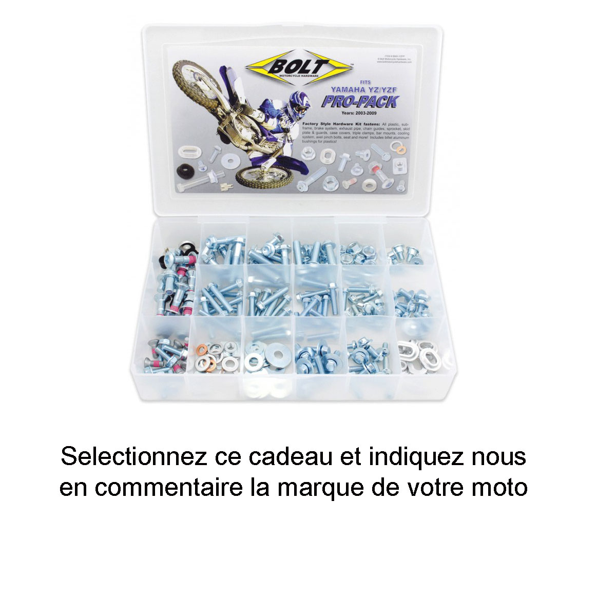 Kit Visseries Pro Pack BOLT