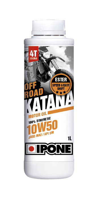 Huile IPONE Synthetique Katana Off Road 10w50