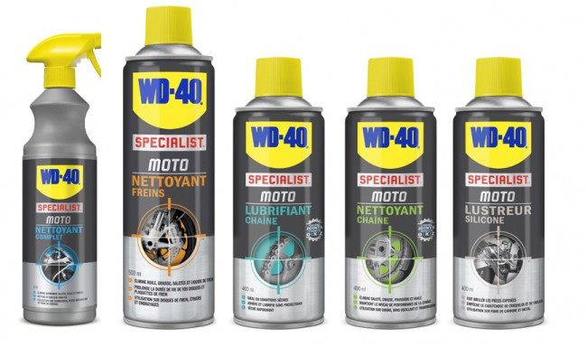 Pack de 5 Spray WD 40