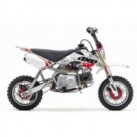Kit-déco-Honda-+ housse de selle ONE INDUSTRIES 50 CRF 04-12 CAMO WHITE