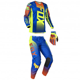 tenue-motocross-fox-enfant-180-oktiv-bleue-21