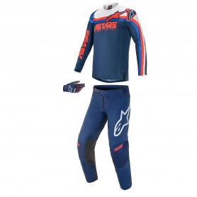 tenue-motocross-alpinestars-techstar-venom-bleue-fonce-rouge-blanche-21