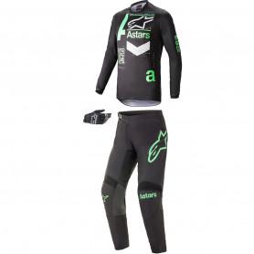 tenue-motocross-alpinestars-fluid-chaser-noire-menthe-21