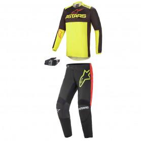 tenue-motocross-alpinestars-fluid-tripple-noir-jaune-fluo-rouge-21
