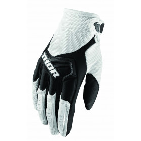 gants-moto-cross-thor-spectrum-blanc-noir