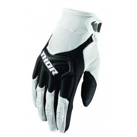 gants-moto-cross-thor-spectrum-blanc-noir