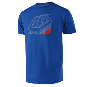 t-shirt-troy-lee-designs-precision-vivid-bleu-rouge