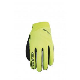 gants-moto-cross-five-hiver-neo-jaune-fluo-noir