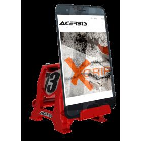support-smartphone-acerbis-rouge