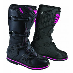 bottes-moto-cross-shot-x10-20-noir-rose
