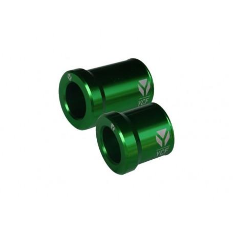 Entretoises de Roue Avant CNC YCF Green