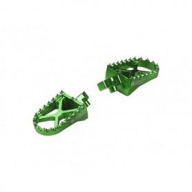 Repose Pied Aluminium YCF Green