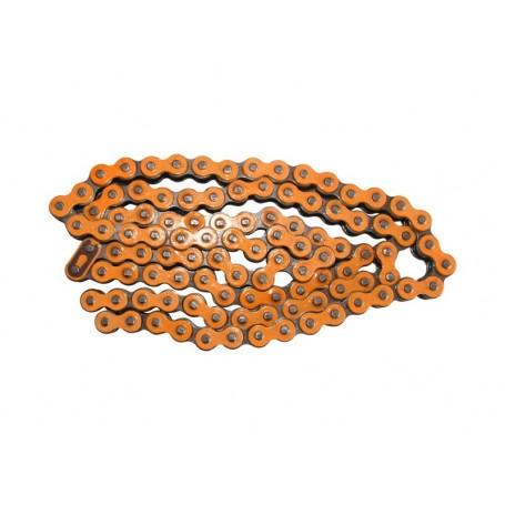 Chaîne Renforcée 420 YCF 110 Maillons Orange