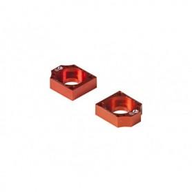 Tendeur de Chaîne CNC Diamètre 15 Pour Bras Acier YCF Orange