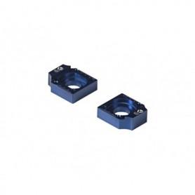 Tendeur de Chaîne CNC Diamètre 15 Pour Bras Alu Factory 11-16 YCF Blue