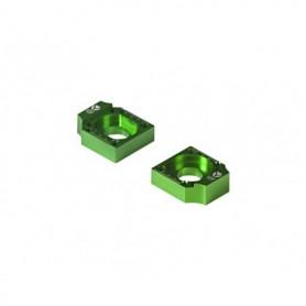 Tendeur de Chaîne CNC Diamètre 15 Pour Bras Alu Factory 11-16 YCF Green