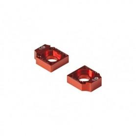 Tendeur de Chaîne CNC Diamètre 15 Pour Bras Alu Factory 11-16 YCF Orange