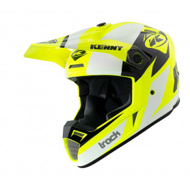 casque-cross-kenny-track-graphic-blanc-jaune-fluo