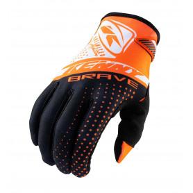 gants-moto-cross-kenny-brave-orange