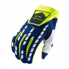 gants-moto-cross-kenny-titanium-bleu-jaune-fluo