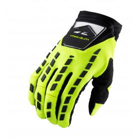 gants-moto-cross-kenny-titanium-jaune-fluo