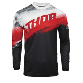 maillot-cross-thor-enfant-sector-vapor-rouge-noir-21