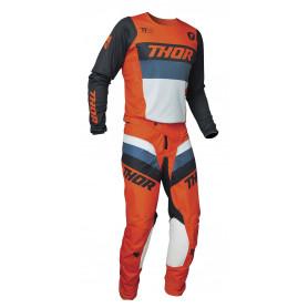 tenue-motocross-thor-enfant-pulse-racer-orange-bleu-nuit-21