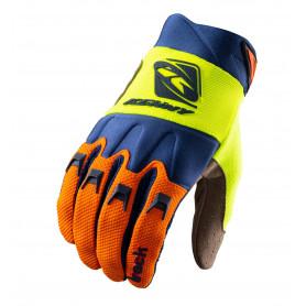 gants-moto-cross-kenny-track-orange-bleu-jaune-fluo