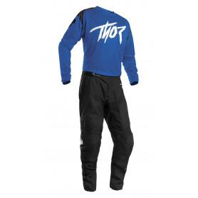 tenue-motocross-thor-enfant-sector-link-bleu-21