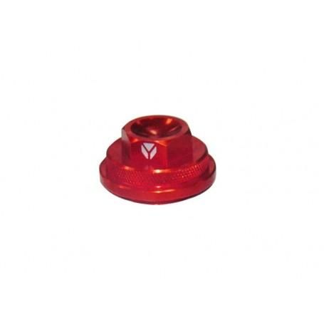 Paire de Cache Soupape pour YCF 88-125 Semi Automatique + 125 Démarrage Point Mort Red