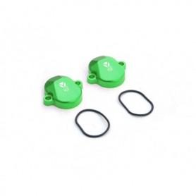 Paire de Cache Soupape pour YCF 150 KLX Green