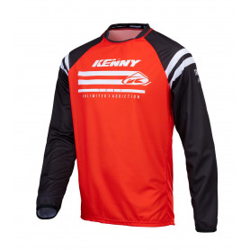 maillot-cross-kenny-raw-rouge-enfant