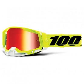 masque-cross-100-the-racecraft-20-jaune-iridium-rouge