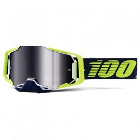 masque-cross-100-armega-deker-iridium-argent