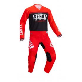 tenue-motocross-kenny-performance-solid-noir-rouge