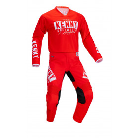 tenue-motocross-kenny-performance-race-rouge