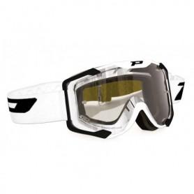 Masque Cross PROGRIP 3400 Blanc