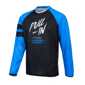 maillot-cross-pull-in-challenger-original-solid-noir-bleu-enfant