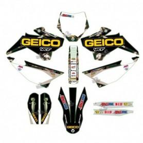 Kit Déco YCF D'Cor Geico Camo Pour Pilot 16-17 & Factory 16