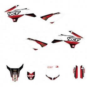 Kit Déco YCF Accelerator Rouge Pour 50 cc