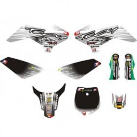 Kit Déco YCF Troy Blanc Pour 50 cc