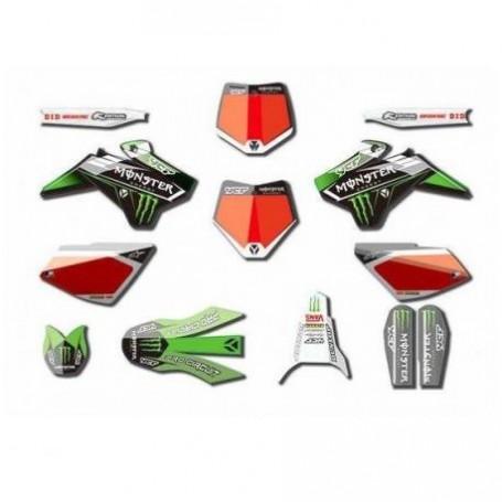 Kit Déco YCF Monster Pour Start 08-17 / Pilot 13-15 & Factory 12-15