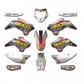 Kit Déco YCF Geico Pour Pilot & Factory 16-17