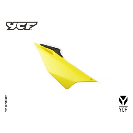 Plaque Latérale Droite YCF Pilot & Factory 16 et + Jaune