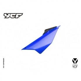 Plaque Latérale Gauche YCF Pilot & Factory 16 et + Bleu