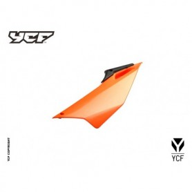 Plaque Latérale Gauche YCF Pilot & Factory 16 et + Orange