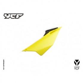 Plaque Latérale Gauche YCF Pilot & Factory 16 et + Jaune
