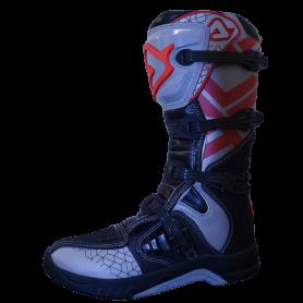 bottes-moto-cross-acerbis-x-team-noir-gris