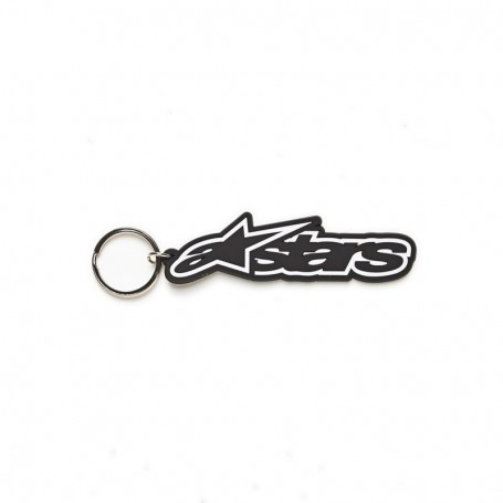 Porte Clefs ALPINESTARS Rub Key Chain Black