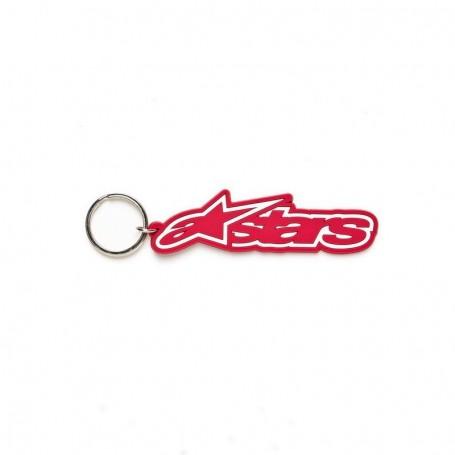 Porte Clefs ALPINESTARS Rub Key Chain Red
